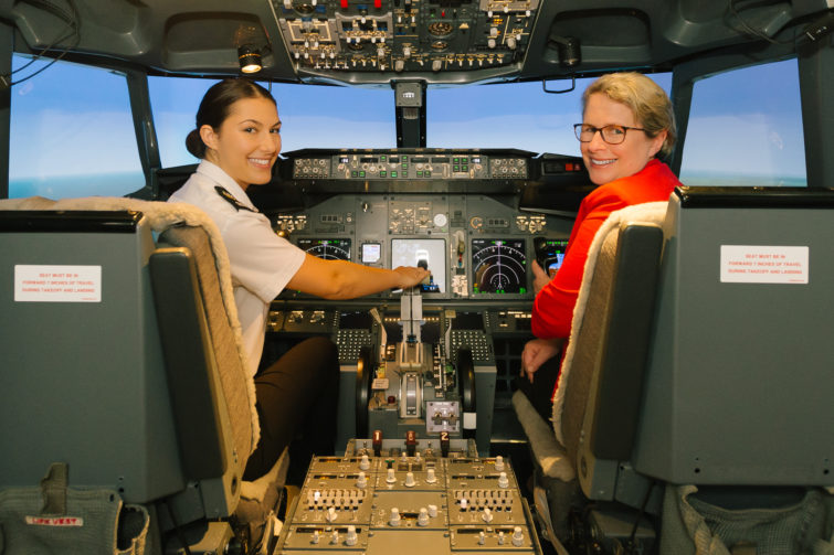 Springfield's very own University is One of the Best in QLD! - USQ Aviation Simulator