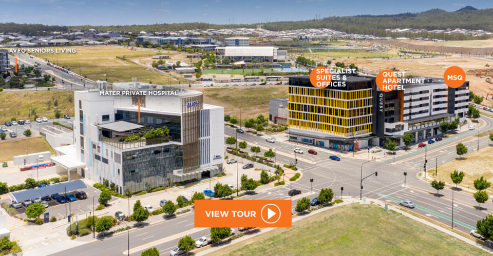 Greater Springfield Specialist and Office Suites Health City, Springfield Queensland