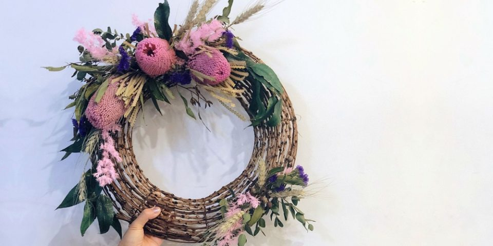 Christmas Wreath Workshop at Sweet Moments Florist Orion Springfield Central